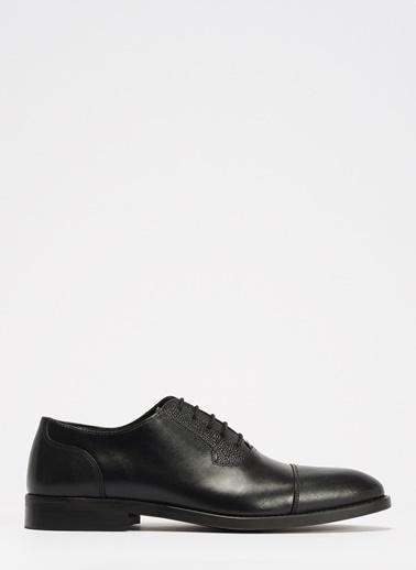 D by Divarese Klasik Deri Ayakkabı Siyah